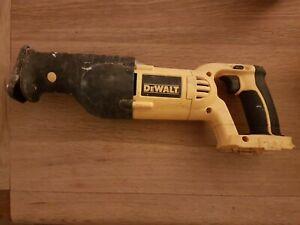 Dewalt Reciprocating saw. DC385 XRP 18v bare unit. No battery