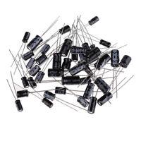 120Pcs 12 Values 1uF- 470uF Assorted Electrolytic Capacitors Assortment Kit Set