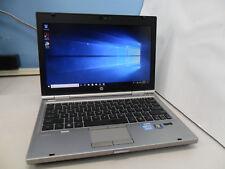 """HP EliteBook 2560p,2.6GHz Core i5,8GB,120GB SSD,DVDRW,WiFi,Webcam,Win10Pro,12.5"""""""