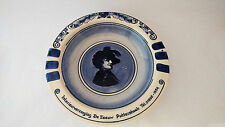 Delft Holland Handpainted Advertising Ashtray - Shakespeare at the Center ?
