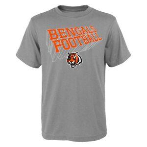 "Cincinnati Bengals Outerstuff NFL Boys Grey ""Dimensional"" T-Shirt"