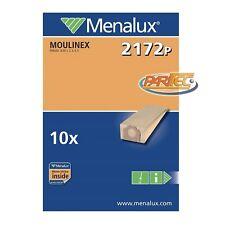 M416MF 5 sacchetti stoffa microfibra per aspirapolvere Moulinex Power Class CL1