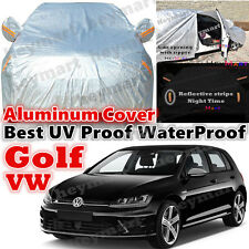 For Volkswagen Golf car cover waterproof rain resistant DustUV protect car cover