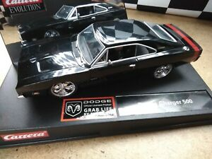 Carrera Evolution 27144 Dodge Charger 500 Custom USA Modell. Selten. Rar.