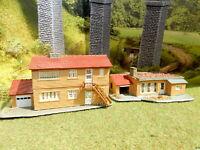 2 Landhaus Bungalow Ferienhaus mit Schwimmbad BELEUCHTET Spur N C358