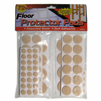 Lot 76 Floor Protectors Furniture Leg Pads Felt Craft Chair Table Adhesive Round
