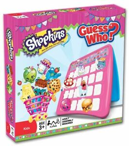 NEW GUESS WHO? SHOPKINS EDITION BOARD GAME 172883-2