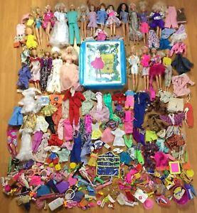 OLD VTG BARBIE DOLL CLOTHES SHOE DRESS ACCESSORY HOLDER MATTEL CHILDREN TOY LOT