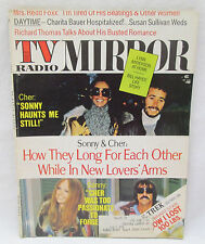 TV Radio Mirror Magazine August 1974 Sonny & Cher - Star Trek - Redd Foxx