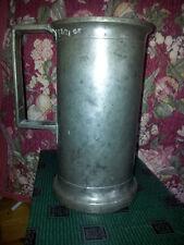 Mesure en étain ancien 1 litre poids 1085 g