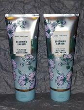 New! Bath & Body Works Blooming Garden Shea Body Cream, 8 oz. Lot x 2