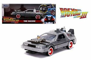 Jada 1:24 Hollywood Rides Back To The Future Time Machine Part III (ET)