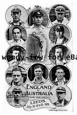 pt9290 - Test Cricket - England v Australia 1926  Leeds , Yorkshire - photograph