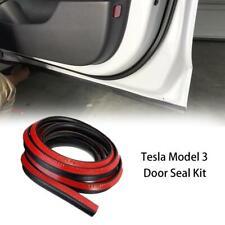 Für Tesla Model 3 Türdichtungssatz Schalldichter Gummi-Geräuschreduzierungssatz