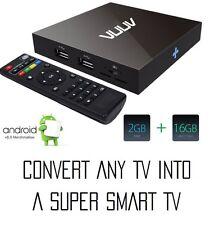 VUUV PRO Android 6 Smart TV Box,Media Player,Mini PC,Quad Core 2GB/16GB UHD 4K
