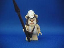 Lego Figurine Minifig Star Wars - Ewok Logray Neuf New / Set 10236
