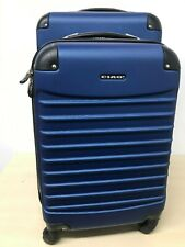 Earth Gear Luggage CIAO Voyager ABS 2-Piece Spinner Set - Blue