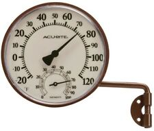 AcuRite Wireless Indoor/Outdoor Brass Thermometer