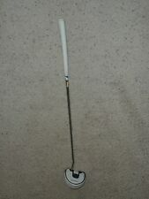 TaylorMade Golf Corza Ghost 33-In Putter Mid w/ White Iomic Grip & Leather Case