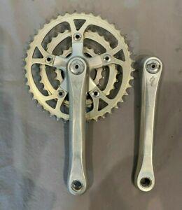 Specialized A8 177.5mm Aluminum Crank Arms w/Suntour 42/32/20 Chainrings & Caps