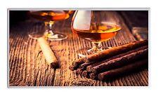 600W Fern Infrarotheizung Cognac Bild Elektroheizung Überhitzungsschutz TÜV