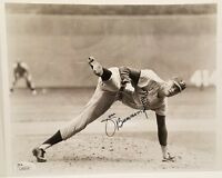 Jim Bunning (d) Signed Philadelphia Phillies 8x10 Photo JSA Hologram