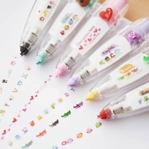 1 Pc Animals cat Press Type Decorative Correction Tape Scrapbooking Diary Statio