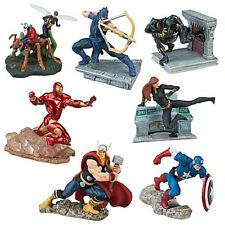 Disney Marvel The Avengers Figures Figure Figurine Play Set Playset 7 Pieces