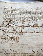 Manuscript Spain Sevilla 1453 15th century