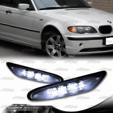 For 2002-2005 BMW E46 330i 325i 3-Series Smoke LED Turn Signal Side Marker Light