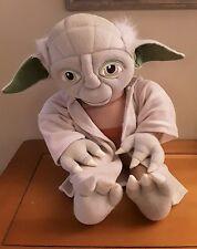 "Star Wars Plush Yoda 18"" w/ Robe Lucasfilm Jedi Stuffed Animal Doll Pillow Toy"