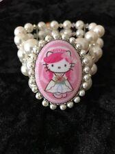 Hello Kitty x Tarina Tarantino Pink Head Collection Bracelet