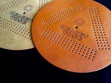 "12"" Dulcet Tone leather record mat audiophile Pro-Ject Lenco Rega Technics Linn"