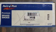 BRAND NEW PARTS PLUS 552B REAR DRUM BRAKE SHOES-BONDED FITS VARIOUS CHEVY OLDS