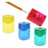 Bulk 24PC Manual Handheld Twist Cap Pencil Sharpener Set for School, 4 Colors