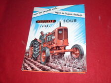 BROCHURE  PUBLICITAIRE   TRACTEUR  NUFFIELD  UNIVERSAL  4    NL