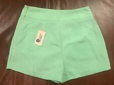 Forever 21 Pistachio Color Shorts Dressy Ladies Sz Small NWT Cp