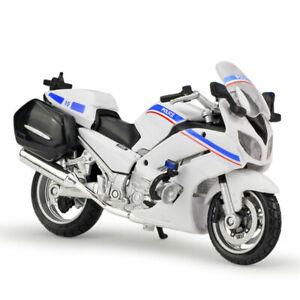 1:18 Maisto Yamaha FJR1300A Police Motorcycle Bike Model
