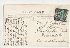 Beeston Notts [3] Squared Circle Postmark 31 Aug 1904 441b