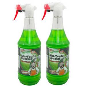 2x TUGA Alu Teufel Spezial Felgenreiniger grün für Alufelgen, Stahlfelgen uvm.