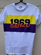KENZO 1969 PRINT T SHIRT SZ XS
