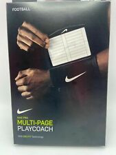 Adult Nike Pro Dri-Fit Playcoach Black Multi Page Playbook Window - New