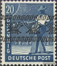 Bizone (Alliierte Besetzung) 43I postfrisch 1948 Posthörnchen (Bandaufdruck)