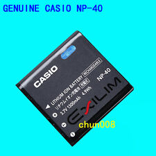 Genuine Original CASIO NP-40 Battery For EXILIM EX-FC100 FC150 Z1000 Z1200 Z400
