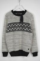 SCOTCH & SODA TRUE GENTLEMAN Men's LARGE Wool Blend Fluffy Sweater 11146*mm