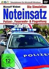 PC SIMULATION Schnäppchen: NOTEINSATZ - Polizei Feuerwehr Flugrettung * NEU/OVP