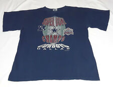 Vintage Official Fan Dallas Cowboys Super Bowl 27 Champions Graphic Tshirt XL
