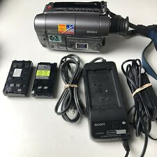 Sony Handycam CCD-TRV12 8mm Video8 HI8 Camcorder Player Camera Video TESTED