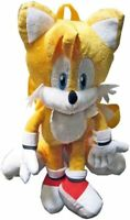 Sonic Hedgehog Tails Plush Backpack Stuffed Figure Doll SEGA Kids Toy Boys Gift