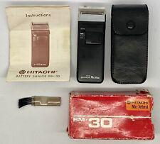 Vintage Hitachi BM-40 Mr Jelmi Battery Shaver - Mens Grooming - Made In Japan